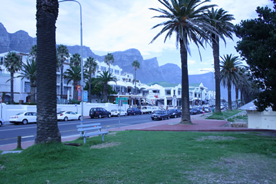 Camps Bay Beach road