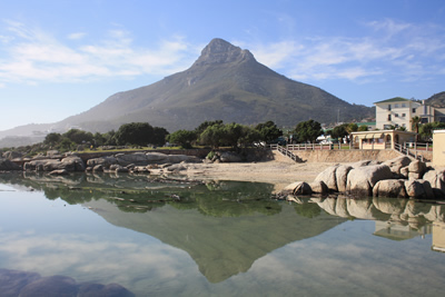 Camps Bay Lions Head View