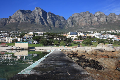 Camps Bay Mountain and Property View