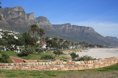 Camps Bay Mountain and beach View