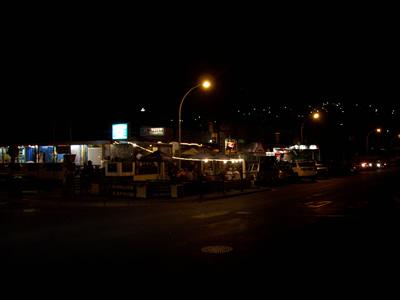 Gordons Bay Night Life