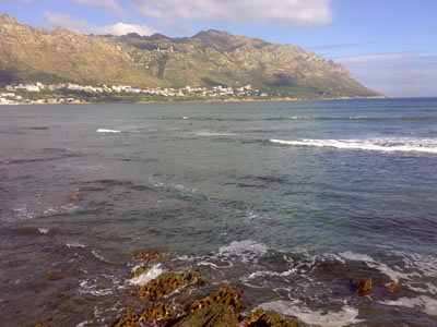 Gordons Bay Harbour Island View