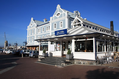Cape Town Victoria and Alfred Waterfront Den Anker Belgium Restaurant
